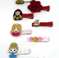 Coleção Princesas - Hair clip M