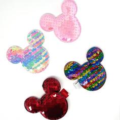Coleção Mickey & Minnie - Hair Clip lantejoula