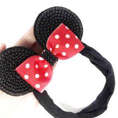 Coleção Mickey & Minnie - Faixa ou Tiara orelhinhas
