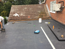 6. Roof covering application