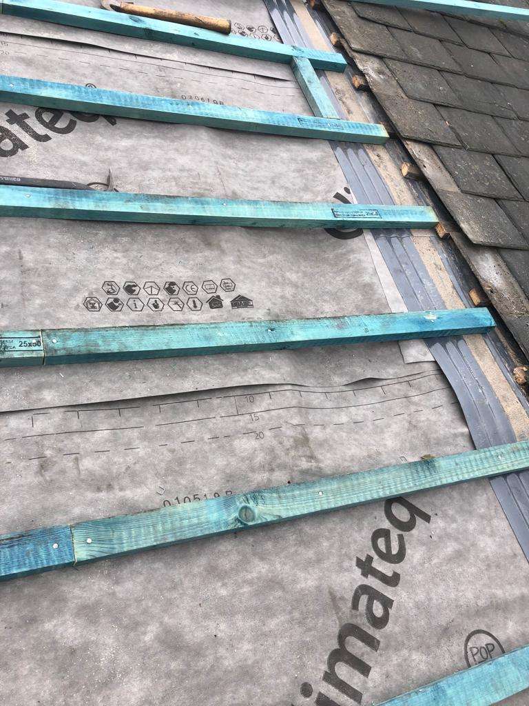 New treated battens