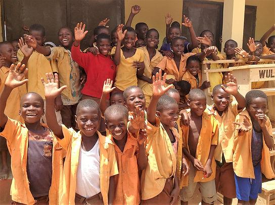 celebration of new school at Bomasa June