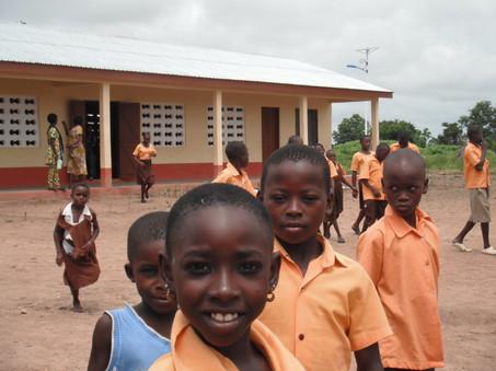 Pupils at Gbenfu 2012