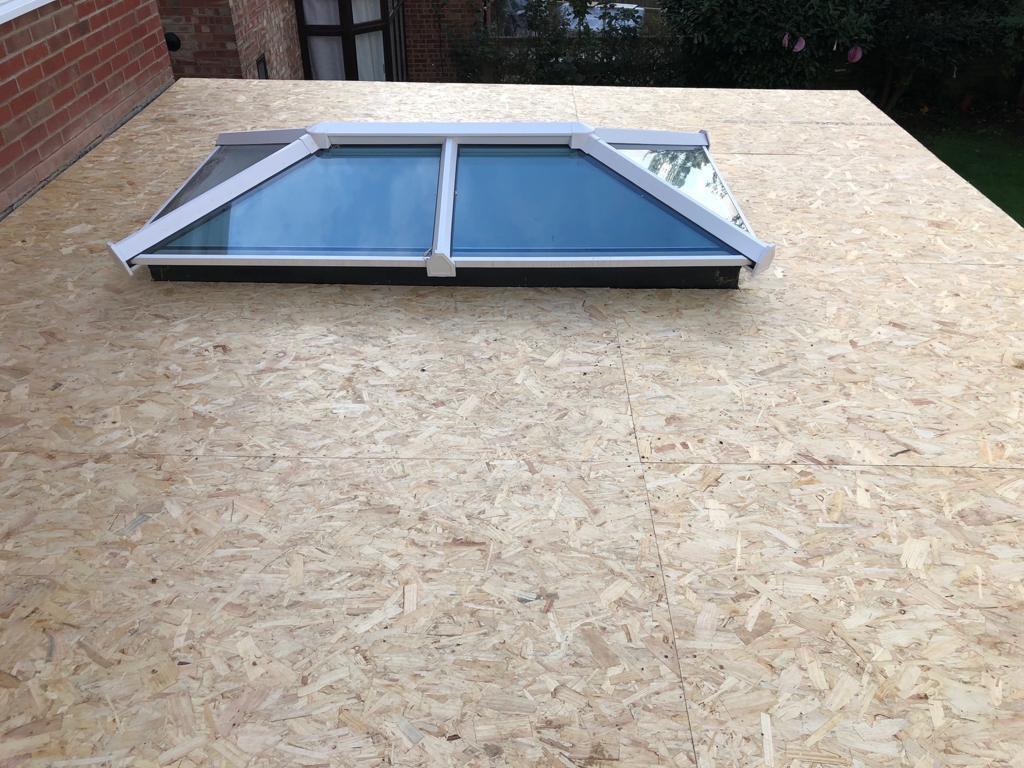 New rooflight in