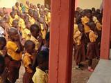 Children in Prayer At Guomo opening