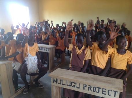 Kokpeng Pupils in new class room oct 15.