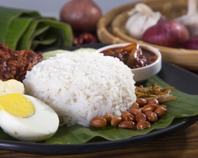 Nasi lemak healthy