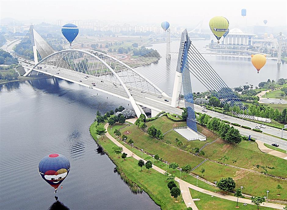 Putrajaya Seri Saujana bridge