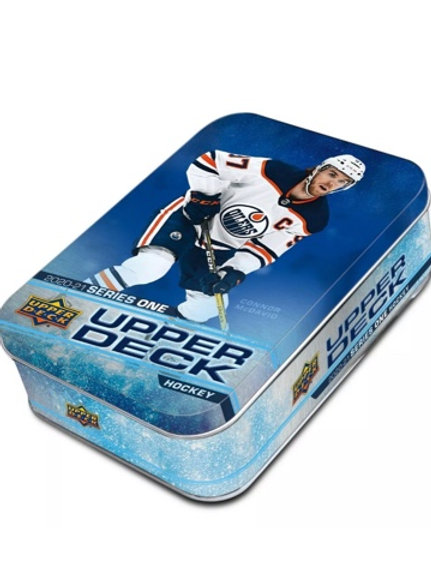 UPPER DECK 2020-21 SERIE 1 TIN  - En magasin seulement/In store