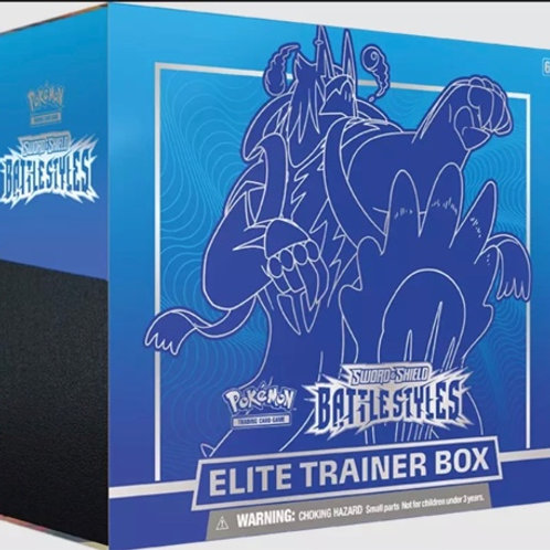 ELITE TRAINER BOX BATTLE STYLE SWORD SHIELD BLUE