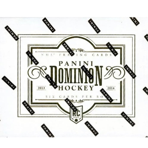 PANINI DOMINION 2013-14 HOBBY BOX  - En magasin seulement/In store