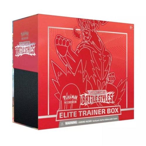 ELITE TRAINER BOX BATTLE STYLE SWORD SHIELD RED