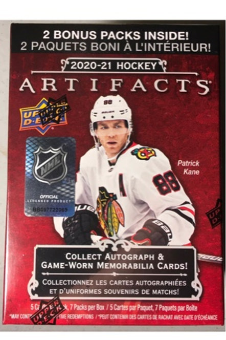 UPPER DECK ARTIFACTS BLASTER BOX  - En magasin seulement/In store