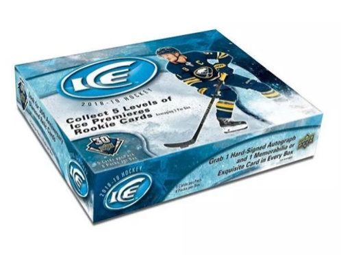 UPPER DECK ICE 2018-19 HOBBY BOX - En magasin seulement/In store only