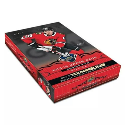 UPPER DECK 2018-19 HOBBY BOX  - En magasin seulement/In store
