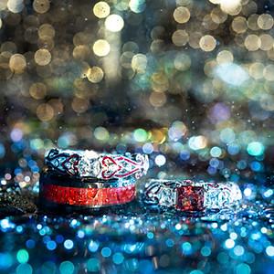 Jennifer & Patrick Wedding Rings