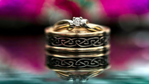 WEDDING RINGS – CINDY & BOBBY // MARRIED!!