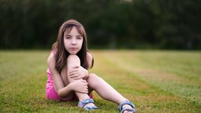 Backyard Summer Portraits