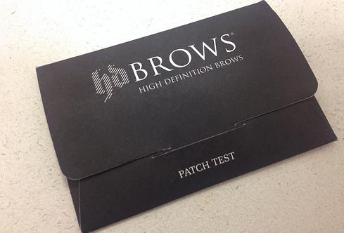 EyebrowLamination Patch Test