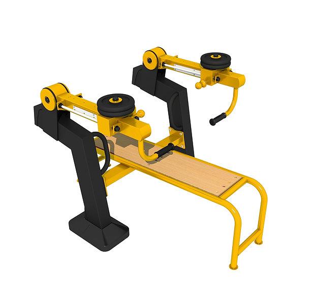 appareil musculation exterieur bench press