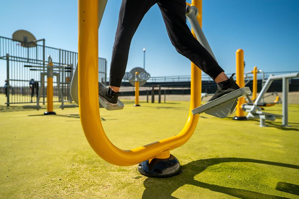marcheur fitness extérieur herkules