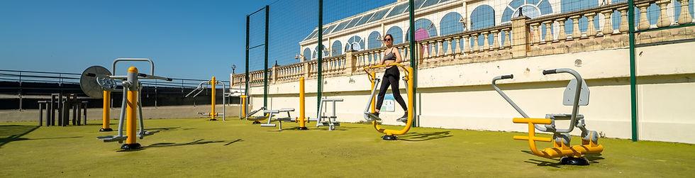 parc fitness exterieur treport rameur ve