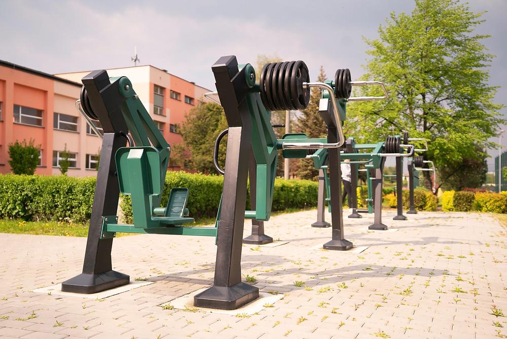 appareil de musculation extérieur bodybuilding