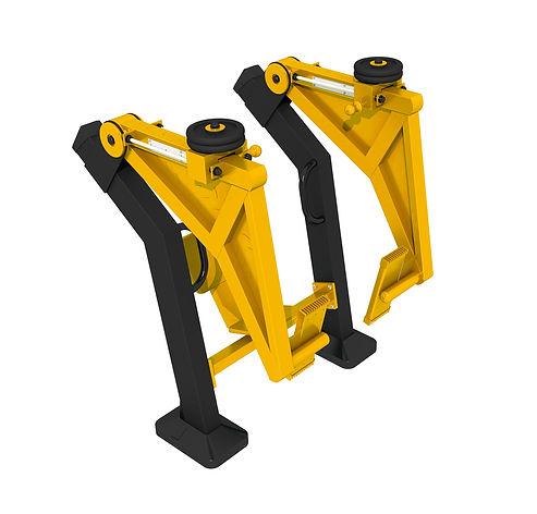 appareil musculation exterieur leg press