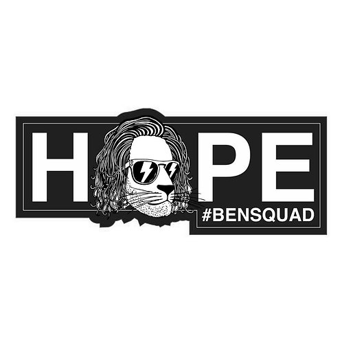Bensquad HOPE Sticker Black
