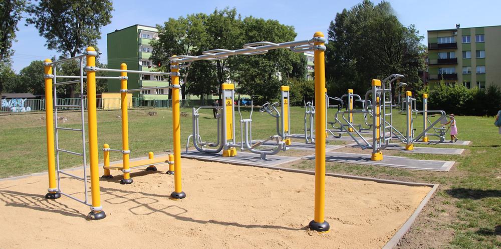 Station Street Workout Herkules Fitness Exterieur