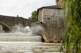 Backside wallride - Franc - 2015