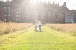 Wedding day pic at Skamania Lodge