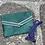 Thumbnail: Pochette enveloppe VERTE