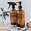 Thumbnail: Distributeur de savon coeur en verre ambré