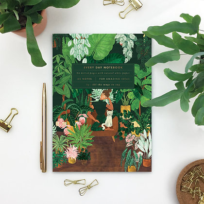 "NOTEBOOK - ""PLANT ADDICT LADY"" - ALL THE WAYS TO SAY"