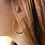 Thumbnail: Boucles d'oreille Créoles MARTEL
