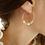 Thumbnail: Boucles d'oreille Créoles INTRA