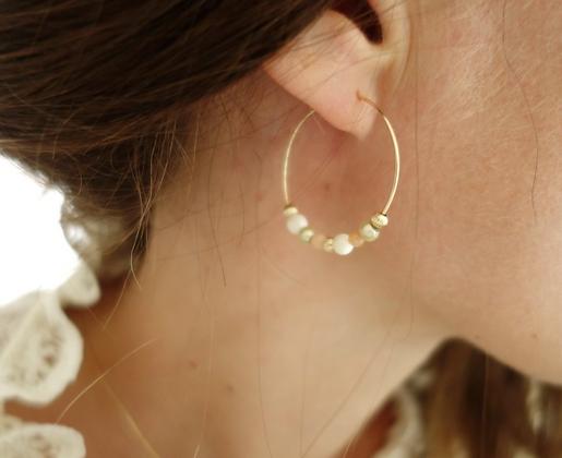 Boucles d'oreille Créoles INTRA