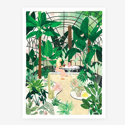 """GRAND POSTER - """"BUTTERFLY GREENHOUSE"""" - ALL THE WAYS TO SAY"""