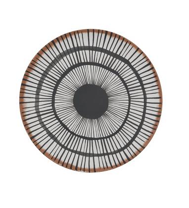 Set de 2 assiettes 25 cm Bambou - UrbanNature Culture