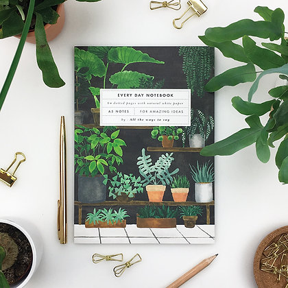 "NOTEBOOK - ""PLANT SHOP"" - ALL THE WAYS TO SAY"