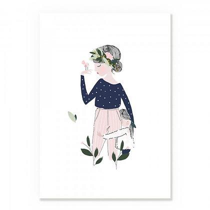Affiche Adélaïde Bleu - MY LOVELY THING