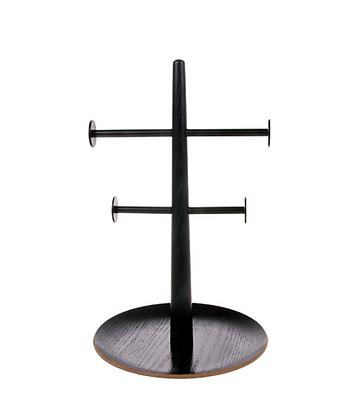 Porte bijoux bois noir