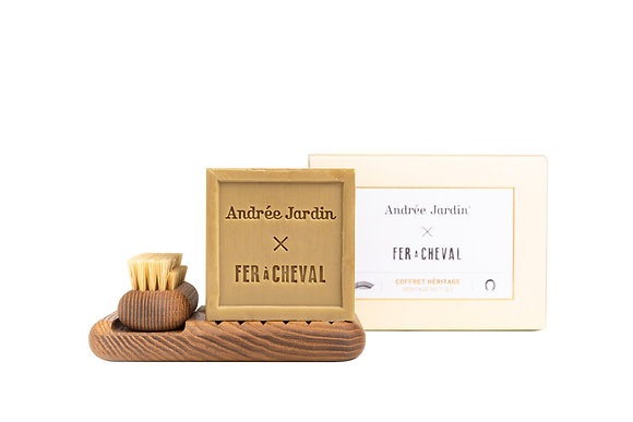 COFFRET HERITAGE  X FER A CHEVAL – ANDREE JARDIN