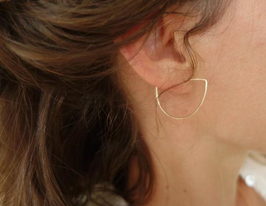 Boucles d'oreille IRIS