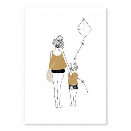 Affiche Balade Garçon - MY LOVELY THING