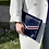 Thumbnail: Pochette enveloppe BLEUE