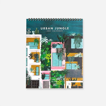 """CALENDRIER 2021 - """"URBAN JUNGLE"""" - ALL THE WAYS TO SAY"""