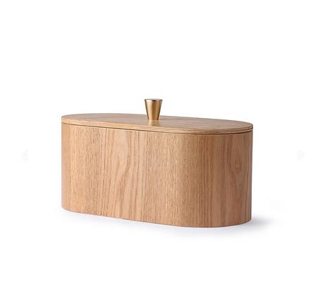 Boîte de rangement en bois