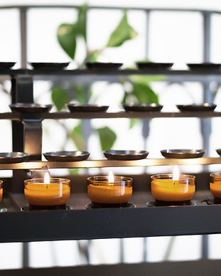 Buddhist Candles